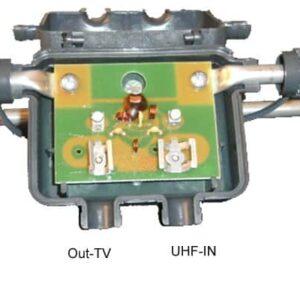 TRIAX VHF BIII 6 element med inbyggt sammankopplingsfilter