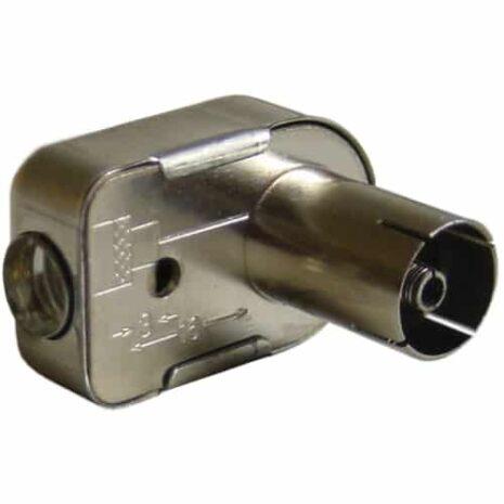 MAXIMUM IEC-kontakt metall HONA skruv vinkel