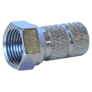 NORDSAT F-kontakt twist on till 5,6mm