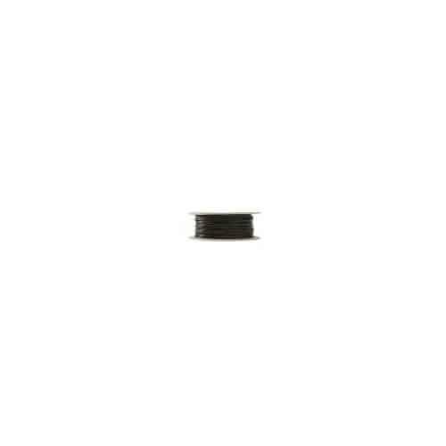 NORDSAT Kabel RG-6T (1,0/4,6) tr-skärm,svart PE,100m plastbobin
