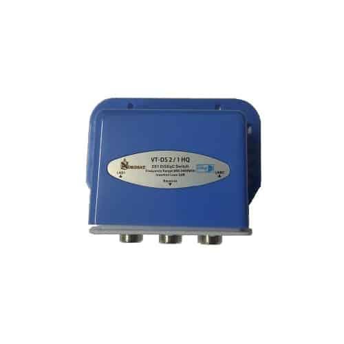 NORDSAT DiSEqC Switch - DiSEqC NordSat VT-DS 2 / 1 HQ, High ISO