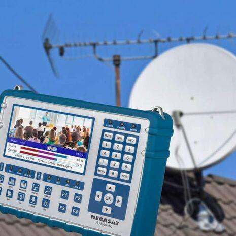MEGASAT Megasat Satmeter HD 5 Combo