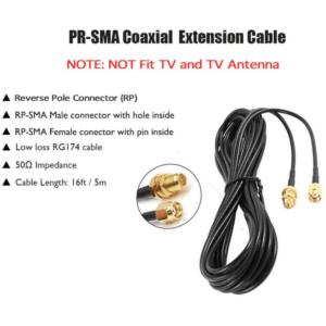DIPOL SMA Plug to SMA Socket Cable (5m)