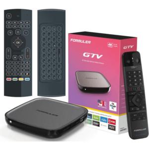 Formuler GTV Google Certifierad Android TV.