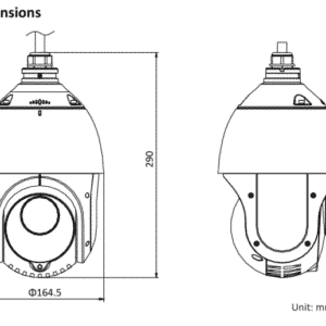 HIKVISION DS-2DE4215IW-DE PTZ 2MP (15x zoom)