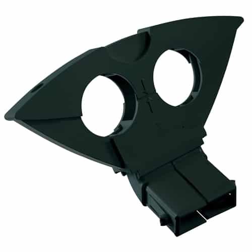 TRIAX Triax Duoblock,svart, 3 grader