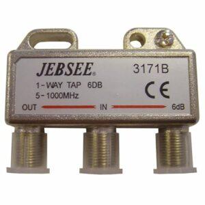 DIGIALITY DIGIALITY 1-vägs tap 1-6, 5-1000 MHz, 2,8 dB