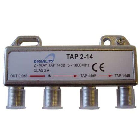 DIGIALITY DIGIALITY 2-vägs tap 2-14, 5-1000 MHz, 2,5 dB