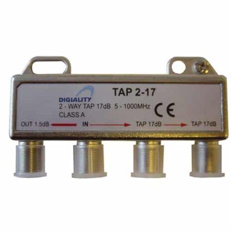 DIGIALITY DIGIALITY 2-vägs tap 2-17, 5-1000 MHz, 1,5 dB