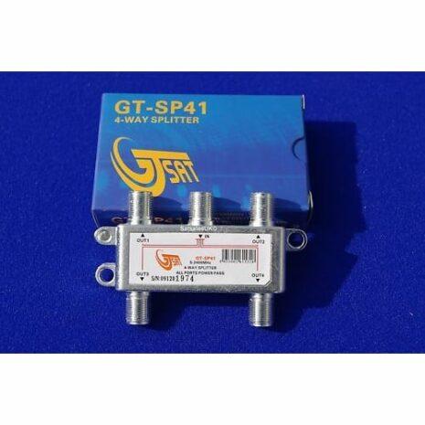 GT SAT GT-SAT 4-vägs splitter