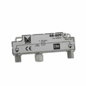 ALCAD LTE, TETRA & GSM rejection filter 60 dB, bandpass 5-790 MHz