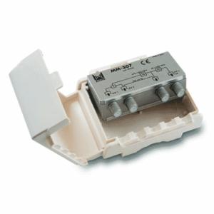 ALCAD ALCAD Multiplexer MM-303, UHF-BIII-FM with DC path on UHF.