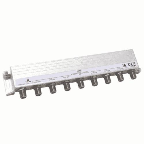 TRIAX ABS 8, 8--way Splitter 1.3GHz
