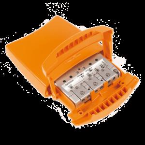 TELEVES Mastfilter, HF-4040DC, 3 ing. B1/FM, B3/DAB,UHF, 1dB