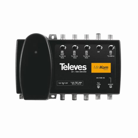 TELEVES Förstärkare, Ref: 5311. B3/S-band, FM, UHF 33dB/43dB 116 dB