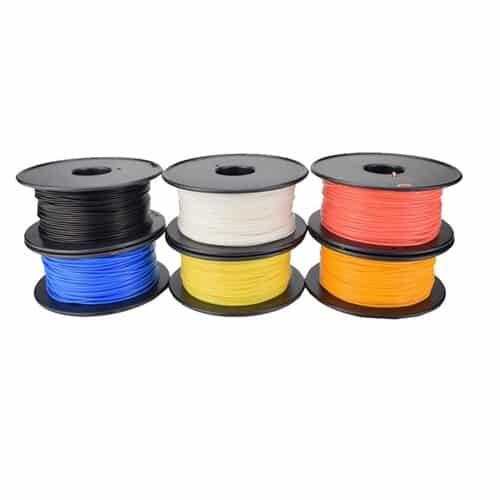NORDSAT Yellow 3D Printer Filament PLA 250g 1.75mm Diameter